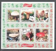 Romania - Rumania 2008 Yvert BF 343, Mushrooms - Miniature Sheet - MNH - Neufs