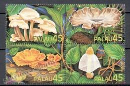 Palau 1989 Yvert 233-36, Mushrooms - MNH - Palau