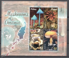 Palau 2007 Yvert 2279-82, Mushrooms - MNH - Palau