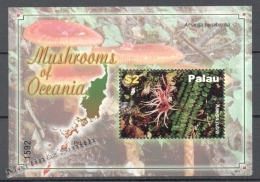 Palau 2007 Yvert BF 201, Mushrooms - Miniature Sheet - MNH - Palau