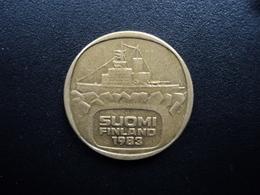 FINLANDE : 5 MARKKAA  1983 K Tranche A *  KM 57   TTB - Finlande