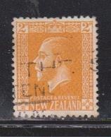 NEW ZEALAND Scott # 163 Used - KGV Definitive - 1855-1907 Crown Colony