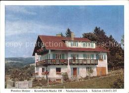 72468228 Krumbach Niederoesterreich Pension Holzer Krumbach - Austria