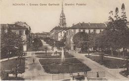 Novara- Entrata Corso Garibaldi, Giardini Pubblici - Novara