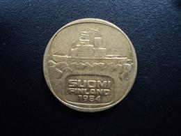 FINLANDE : 5 MARKKAA  1984 N Tranche A *  KM 57   TTB - Finlande