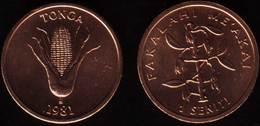 """TONGA - 1 Coin Of 1 Seniti - 1981 """"FAO"""" - UNC - Tonga"""