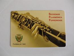 Sociedade Filarmónica Ferreirense Ferreira Do Zezere Clarinete Portugal Portuguese Pocket Calendar 2015 - Calendars