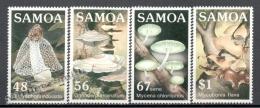 Samoa 1985 Yvert 580-83, Mushrooms - MNH - Samoa