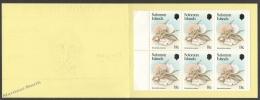Solomon Islands 1984 Yvert C-505, Mushrooms - Booklet - MNH - Islas Salomón (1978-...)