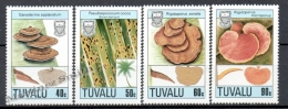 Tuvalu 1988 Yvert 500-03, Mushrooms - MNH - Tuvalu