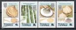 Tuvalu 1989 Yvert 515-18, Mushrooms - MNH - Tuvalu