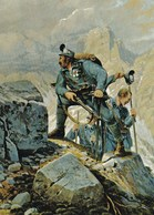 Kaiserschützen  Erkundungstrupp   ---   Dolomiten 1915  - 1918 - Austria