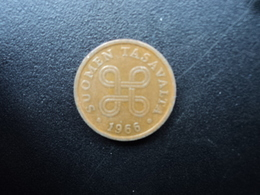 FINLANDE : 5 PENNIÄ  1966   KM 45   TTB - Finlande