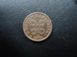 FINLANDE : 5 PENNIÄ  1968   KM 45   TTB - Finlande