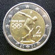 Greece - Grece - Griekenland   2 EURO 2004      Speciale Uitgave - Commemorative - Grecia