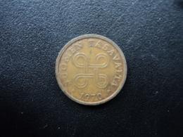 FINLANDE : 5 PENNIÄ  1970   KM 45    TTB - Finlande