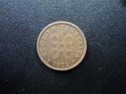 FINLANDE : 5 PENNIÄ  1972   KM 45    SUP - Finlande