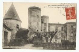 87 Près Oradour Sur Vayre. Chateau De Cromières (1217) - Oradour Sur Vayres