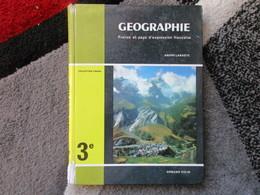 """Géographie """"Classe De 3e"""" France Et Pays D'expression Française """"Spécimen"""" (André Labaste) éditions Armand Colin De 1964 - Books, Magazines, Comics"""