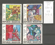 Maldives, Année 1969, Espace - Maldives (1965-...)