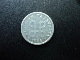 FINLANDE : 5 PENNIÄ  1986   KM 45a    SUP - Finland