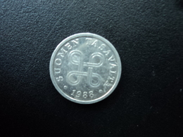 FINLANDE : 5 PENNIÄ  1988   KM 45a    SUP - Finlande