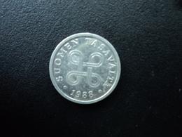 FINLANDE : 5 PENNIÄ  1988   KM 45a    SUP - Finland