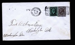 A5406) Canada Brief Vancouver 05/11/34 N. Washington / US - 1911-1935 George V