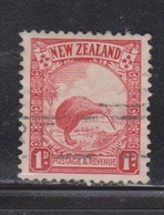NEW ZEALAND Scott # 186 Used - Bird - Kiwi - 1855-1907 Crown Colony