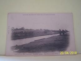 PORT-BOUET (COTE D'IVOIRE) CHEMIN DE FER ET PORT DE LA COTE D'IVOIRE. TRAVAUX DU CANAL MARITIME. PREMIERE PHASE. MAI1904 - Ivory Coast