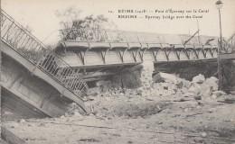 Architecture - Ponts - Guerre 14-18 - Pont Détruit - Reims - Bridges