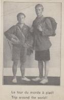 Sports - Voyage Globe Trotters - Tour Du Monde à Pied  - Banjo - Postkaarten