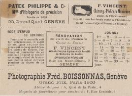 Thermalisme - Evian Les Bains - Vignettes Contrôle Verres D'eau - Chirurgien Pied - Photographe Genève Horlogerie - Santé