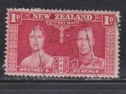 NEW ZEALAND Scott # 223 Used - KGVI Coronation Issue - 1855-1907 Crown Colony