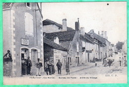 PRAUTHOY - BUREAU DE POSTE - ENTREE DU VILLAGE - Prauthoy