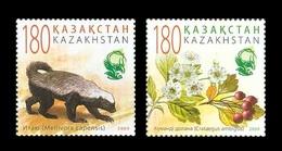 Kazakhstan 2009 Mih. 662/63 Flora And Fauna MNH ** - Kazakhstan