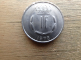 Luxembourg  1  Franc  1976  Km 55 - Luxembourg