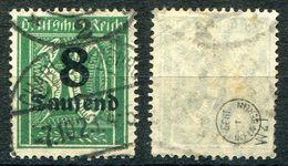 D. Reich Michel-Nr. 278x Gestempelt - Geprüft - Gebraucht