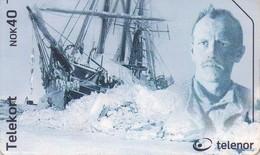 TARJETA TELEFONICA DE NORUEGA. N-260 (008) BARCOS - Noruega