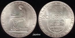 "PORTUGAL - 1 Coin Of 20 Escudos ""25th Anniversary Of Financial Reform"". Silver  - 1953 - UNC - Portugal"