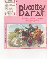 Buvars Biscottes BARAT Série Automobiles PHAETON BARDON 1899 - Zwieback