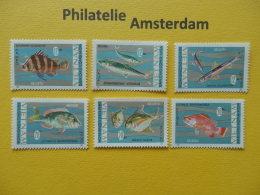 Vietnam 1967, FAUNA FISH FISCHE VISSEN POISSONS PECES PESCI: Mi 485-90, (*, O.G.) - Vissen