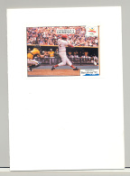 Dominica 1992 Barcelona Olympics, Baseball 1v S/S Imperf Proof Unissued Design - Dominica (1978-...)