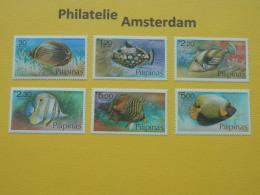 Philippines 1978, FAUNA FISH FISCHE VISSEN POISSONS PECES PESCI: Mi 1256-61, ** - Fische