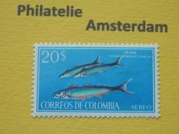 Colombia 1966, FAUNA MARINE LIFE FISH FISCHE VISSEN POISSONS PECES PESCI: Mi 1082, ** - Pesci