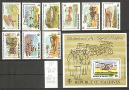 Maldives, Année 1978, Aviation - Maldives (1965-...)