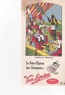 Buvars Pain D'épices VAN LYNDEN Antoine Et Cleopatre - Pain D'épices