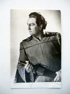 Autografo Wolfgang Windgassen Fotocartolina Tenore Lirica Wagner Bayreuth 1964 - Autographs