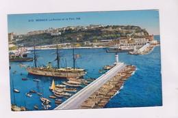 CPA MONACO LE ROCHER ET LE PORT - Harbor
