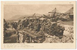 GUERRA D'ITALIA - In Vedettta Sul Trincerone FP NV - Guerra 1914-18